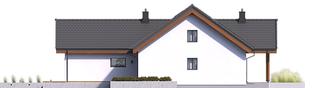 Projekt domu Simon II G2 - elewacja prawa