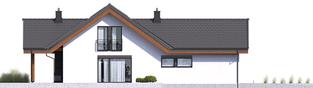 Projekt domu Simon II G2 - elewacja lewa