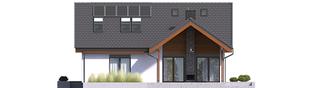 Projekt domu Simon II G2 - elewacja tylna
