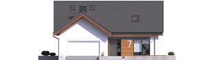 Projekt domu Simon II G2 - elewacja frontowa