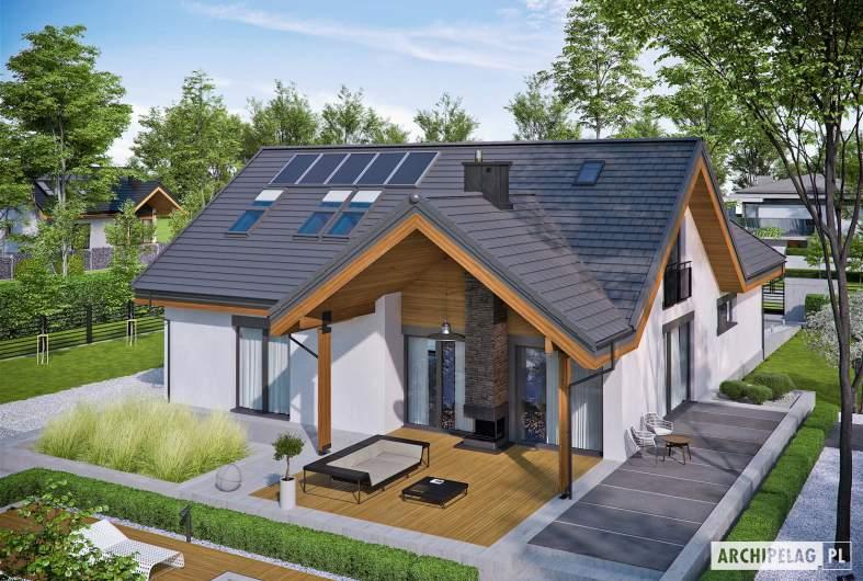 Projekt domu Simon II G2 - Projekty domów ARCHIPELAG - Simon II G2 - widok z góry