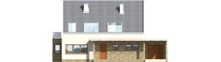 Projekt domu Gerda G1 - elewacja frontowa