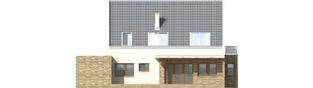 Projekt domu Gerda G1 - elewacja lewa