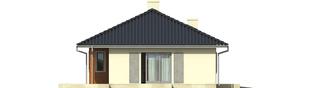 Projekt domu Manuela II G1 - elewacja lewa