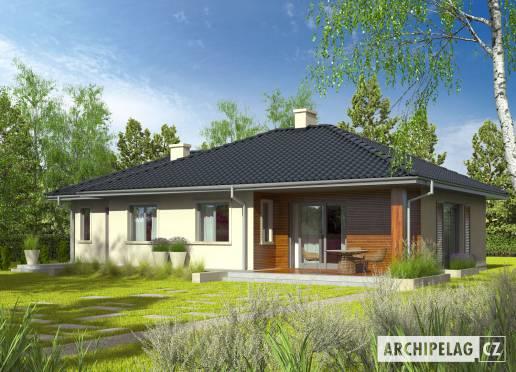 Projekt rodinného domu - Manuela II G1