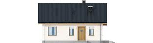 Projekt domu Elmo V ENERGO - elewacja frontowa