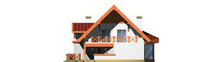 Projekt domu Daria G1 - elewacja prawa
