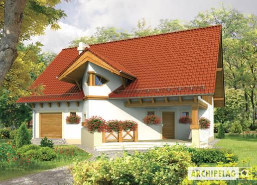 Projekt rodinného domu - Darja