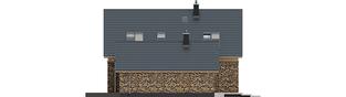 Projekt domu EX 16 II G1 - elewacja prawa