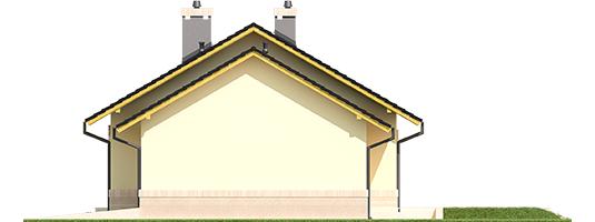 Erin III G1 - Projekty domów ARCHIPELAG - Erin III G1 - elewacja prawa