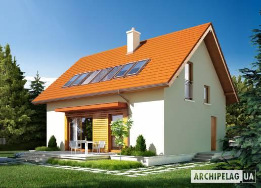 Проект будинку - Е1 (Економ, версія Б)