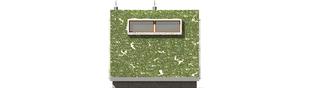 Projekt domu Garden G2 - elewacja lewa