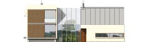 Projekt domu Garden G2 - elewacja frontowa
