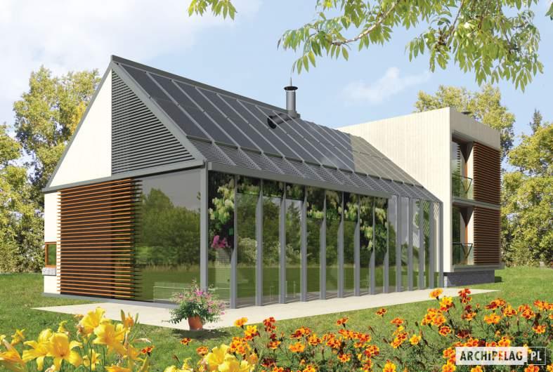 Projekt domu Garden G2 - wizualizacja ogrodowa