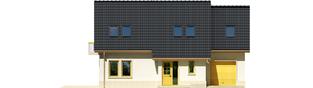 Projekt domu Oleńka G1 - elewacja frontowa