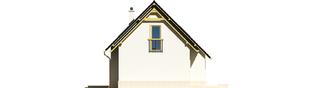 Projekt domu Oleńka G1 - elewacja prawa