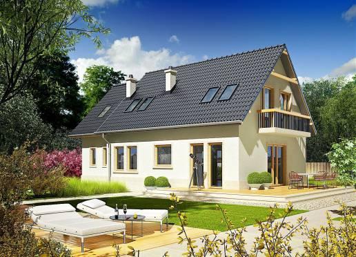 Mājas projekts - Olenka (ar garāžu)
