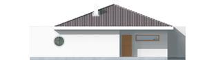 Projekt domu Lolita G1 - elewacja lewa
