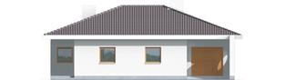Projekt domu Lolita G1 - elewacja frontowa