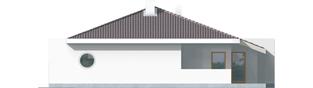 Projekt domu Lolita G1 - elewacja prawa