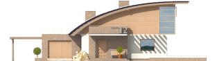 Projekt domu Tomasz G1 - elewacja frontowa