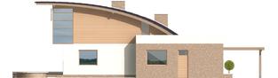 Projekt domu Tomasz G1 - elewacja tylna