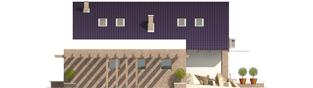 Projekt domu Tomasz G1 - elewacja lewa