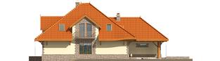 Projekt domu Sława G1 - elewacja lewa