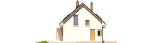 Projekt domu Liv 1 MULTI-COMFORT - elewacja lewa