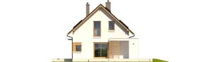 Projekt domu Liv 1 MULTI-COMFORT - elewacja prawa