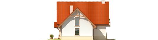 Karolė G1 A++ - Projekt domu Karolinka G1 - elewacja prawa