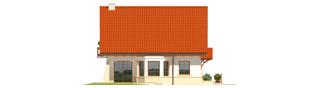 Projekt domu Karolinka G1 - elewacja lewa
