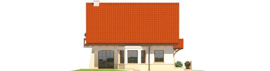 Karolė G1 A++ - Projekt domu Karolinka G1 - elewacja lewa