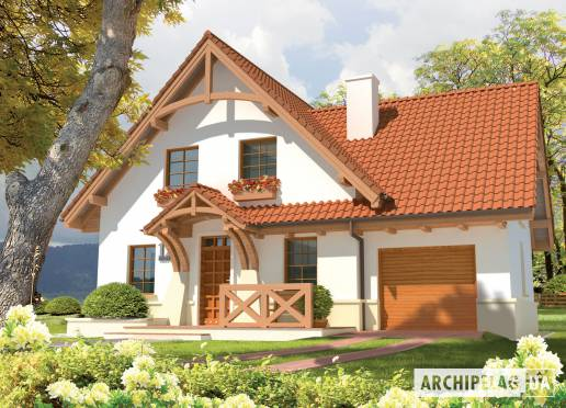 Проект дома - Каролинка (Г1)