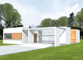 Проекты домов : модерн