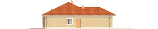 Eris G2 A - Projekty domów ARCHIPELAG - Eris G2 (wersja A) - elewacja lewa