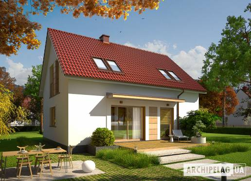 Проект будинку - Е12 ІІ (Економ)