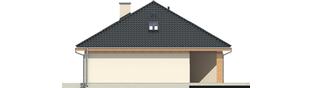 Projekt domu Andrea G1 - elewacja prawa