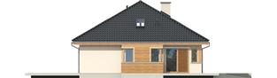 Projekt domu Andrea G1 - elewacja lewa