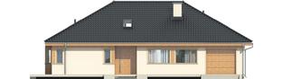 Projekt domu Andrea G1 - elewacja frontowa