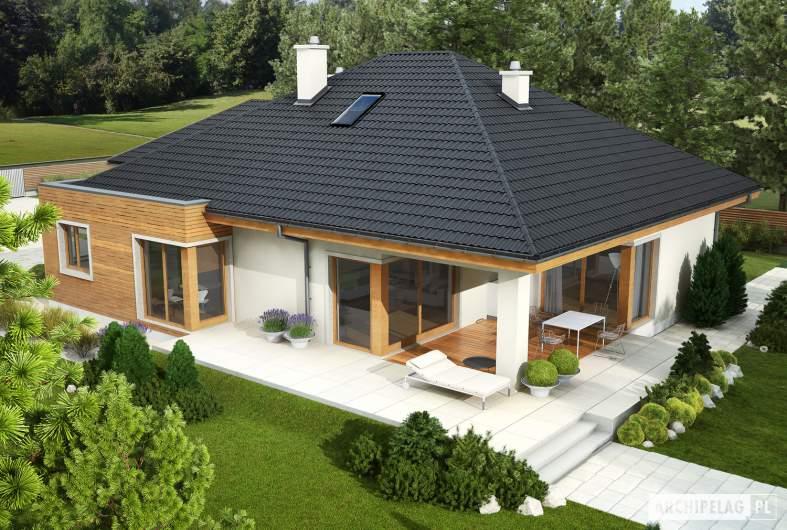 Projekt domu Margaret II G2 - Projekty domów ARCHIPELAG - Margaret II G2 - widok z góry