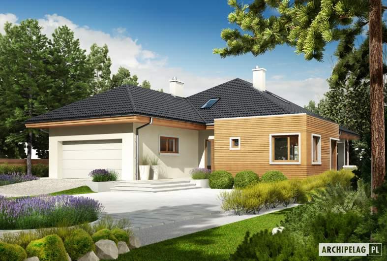 Projekt domu Margaret II G2 - Projekty domów ARCHIPELAG - Margaret II G2 - wizualizacja frontowa