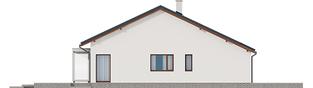 Projekt domu Armando II G1 ENERGO - elewacja lewa