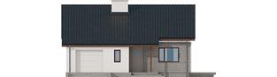 Projekt domu Armando II G1 ENERGO - elewacja frontowa