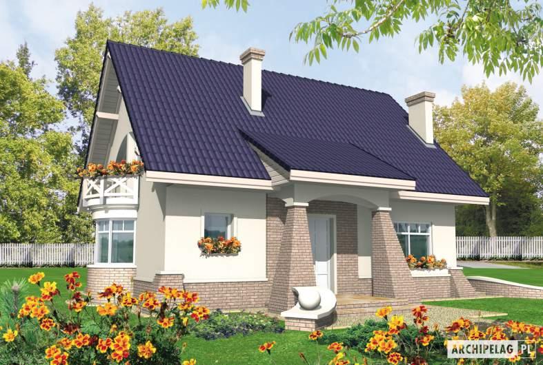 Projekt domu Janeczka -