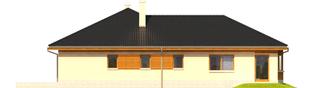 Projekt domu Alan III G1 - elewacja lewa