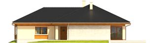 Projekt domu Alan III G1 - elewacja prawa