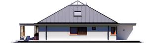 Projekt domu Lorena G2 - elewacja lewa