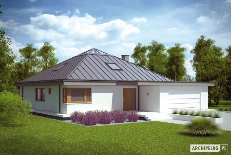 Projekt domu Lorena G2 - wizualizacja frontowa