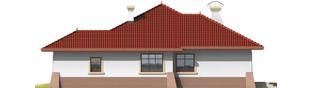 Projekt domu Kornelia G1 01 - elewacja prawa